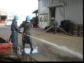 消防訓練の写真